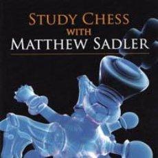 Coleccionismo deportivo: AJEDREZ. STUDY CHESS WITH MATTHEW SADLER - MATTHEW SADLER. Lote 41103036