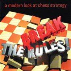 Coleccionismo deportivo: AJEDREZ. CHESS. BREAK THE RULES! - NEIL MCDONALD. Lote 41107713