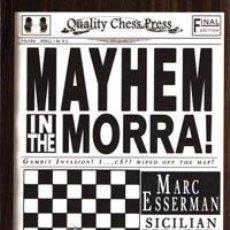 Coleccionismo deportivo: AJEDREZ. CHESS. MAYHEM IN THE MORRA! - MARC ESSERMAN. Lote 41123195
