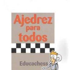 Coleccionismo deportivo: CHESS. AJEDREZ PARA TODOS. AVANZADO 1 - JORDI PRIÓ/JOSÉ LUIS VILELA. Lote 41677901