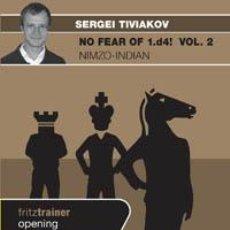 Coleccionismo deportivo: AJEDREZ. CHESS. NO FEAR OF 1.D4! VOL. 2 NIMZO-INDIAN - SERGEY TIVIAKOV DVD. Lote 41837946