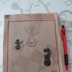 Coleccionismo deportivo: CIEN PARTIDAS DE AJEDREZ 1930-33 - REY ARDID -1ª EDICION 1934 - 267 PAGS. Lote 42399643