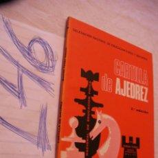 Coleccionismo deportivo - CARTILLA DE AJEDREZ - ROMAN TORAN - 44323923
