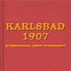 Coleccionismo deportivo: AJEDREZ. KARLSBAD 1907 INTERNATIONAL CHESS TOURNAMENT - GEORGE MARCO/CARL SCHLECHTER (CARTONÉ). Lote 44378013