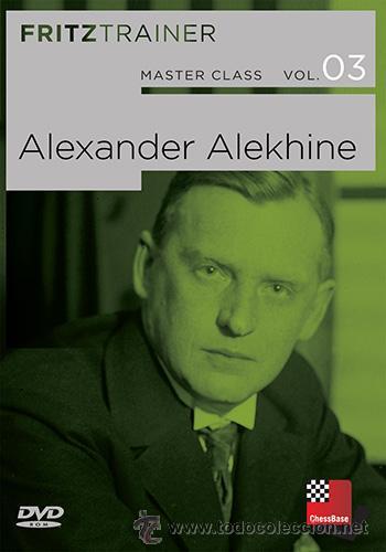 AJEDREZ. CHESS. MASTER CLASS VOL 3: ALEXANDER ALEKHINE - MIHAIL MARIN/DORIAN ROGOZENKO/KARST DVD-ROM (Coleccionismo Deportivo - Libros de Ajedrez)