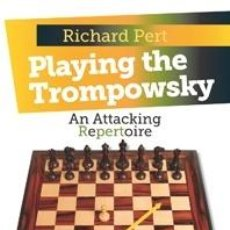 Coleccionismo deportivo: AJEDREZ. CHESS. PLAYING THE TROMPOWSKY - RICHARD PERT (CARTONÉ). Lote 44764132