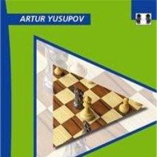 Coleccionismo deportivo: AJEDREZ. CHESS EVOLUTION 3 MASTERY - ARTUR YUSUPOV (CARTONÉ). Lote 44846471