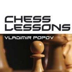 Coleccionismo deportivo: AJEDREZ. CHESS LESSONS - VLADIMIR POPOV (CARTONÉ). Lote 44857874