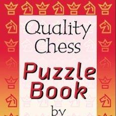 Coleccionismo deportivo: AJEDREZ. QUALITY CHESS PUZZLE BOOK - JOHN SHAW (CARTONÉ). Lote 44863270