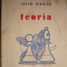 Coleccionismo deportivo: TEORIA DEL FINAL.JULIO GANZO.1957.90 PG.8ª. Lote 45132569