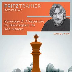 Coleccionismo deportivo: AJEDREZ. CHESS. POWER PLAY 21. A REPERTOIRE FOR BLACK AGAINST THE ANTI-SICILIANS - DANIEL KING DVD-R. Lote 45154916