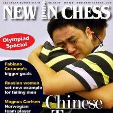 Coleccionismo deportivo: AJEDREZ. REVISTA. MAGAZINE NEW IN CHESS 2014/6. Lote 45183692