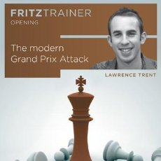 Coleccionismo deportivo: AJEDREZ. CHESS. THE MODERN GRAND PRIX ATTACK - LAWRENCE TRENT DVD-ROM. Lote 45219428