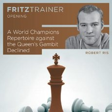Coleccionismo deportivo: AJEDREZ. CHESS. A WORLD CHAMPIONS REPERTOIRE AGAINST THE QUEEN'S GAMBIT DECLINED - ROBERT RIS DVD-RO. Lote 45220211