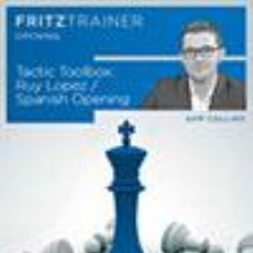 Coleccionismo deportivo: AJEDREZ. CHESS. TACTIC TOOLBOX RUY LOPEZ / SPANISH OPENING - SAM COLLINS DVD-ROM. Lote 45223893