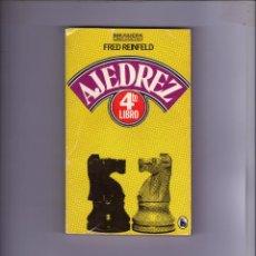 Coleccionismo deportivo: LIBRO DE AJEDREZ - FRED REINFELD. Lote 45473499