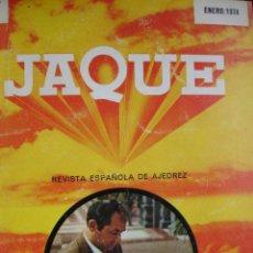 Coleccionismo deportivo: REVISTA DE AJEDREZ JAQUE AÑO 1974 COMPLETO.DEL Nº 25 AL 36 ENCUADERNADO EN 1 TOMO. Lote 45568208