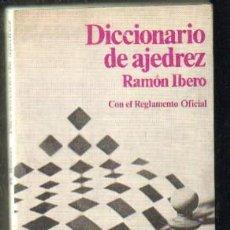 Coleccionismo deportivo: DICCIONARIO DE AJEDREZ A-AJD-461. Lote 54973105