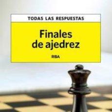 Coleccionismo deportivo: FINALES DE AJEDREZ. Lote 46028735
