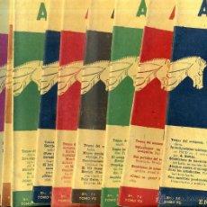 Coleccionismo deportivo: REVISTA AJEDREZ AÑO COMPLETO 1960 - SOPENA ARGENTINA. Lote 47677630