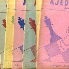 Coleccionismo deportivo: REVISTA AJEDREZ AÑO COMPLETO 1967 - SOPENA ARGENTINA. Lote 47677646