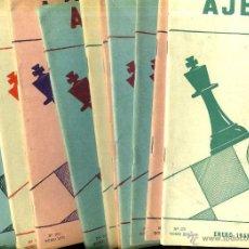 Coleccionismo deportivo: REVISTA AJEDREZ AÑO COMPLETO 1969 - SOPENA ARGENTINA. Lote 47677687
