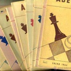 Coleccionismo deportivo: REVISTA AJEDREZ AÑO COMPLETO 1964 - SOPENA ARGENTINA. Lote 47677704
