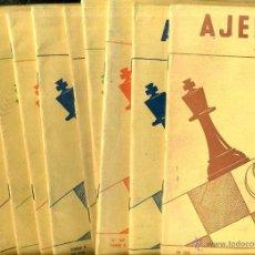Coleccionismo deportivo: REVISTA AJEDREZ AÑO COMPLETO 1963 - SOPENA ARGENTINA. Lote 47677720