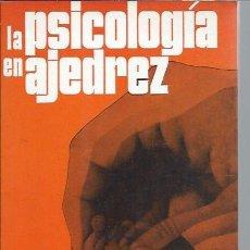 Coleccionismo deportivo: LA PSICOLOGÍA EN AJEDREZ, N.V.KROGIUS, MARTINEZ ROCA BARCELONA 1972, RÚSTICA. Lote 47912343