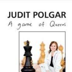 Coleccionismo deportivo: AJEDREZ. CHESS. A GAME OF QUEENS - JUDIT POLGAR (CARTONÉ). Lote 48198046