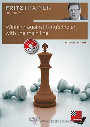 AJEDREZ. CHESS. WINNING AGAINST KING'S INDIAN WITH THE MAIN LINE - MIHAIL MARIN DVD (Coleccionismo Deportivo - Libros de Ajedrez)