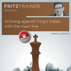 Coleccionismo deportivo: AJEDREZ. CHESS. WINNING AGAINST KING'S INDIAN WITH THE MAIN LINE - MIHAIL MARIN DVD. Lote 48348222