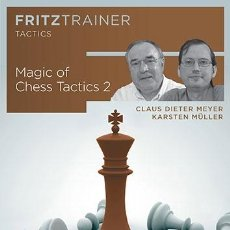 Coleccionismo deportivo: AJEDREZ. THE MAGIC OF CHESS TACTICS 2 - CLAUS DIETER MEYER/KARSTEN MÜLLER DVD. Lote 48462919