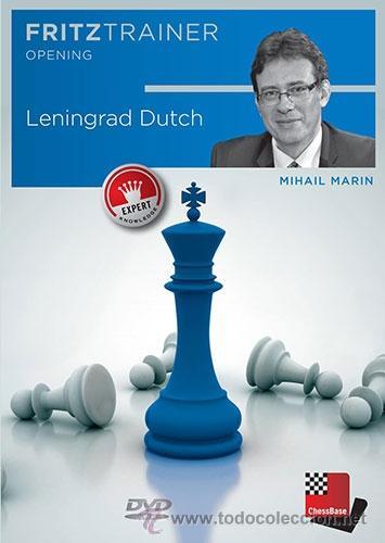 AJEDREZ. CHESS. LENINGRAD DUTCH - MIHAIL MARIN DVD-ROM (Coleccionismo Deportivo - Libros de Ajedrez)