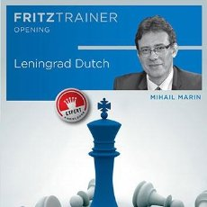 Coleccionismo deportivo: AJEDREZ. CHESS. LENINGRAD DUTCH - MIHAIL MARIN DVD-ROM. Lote 48590018