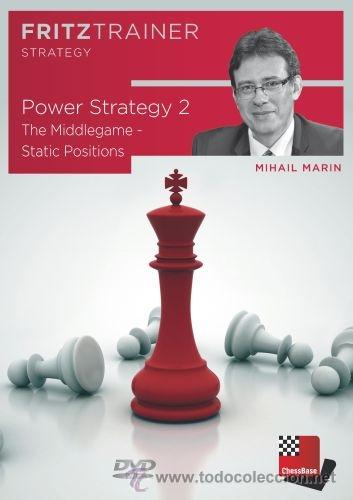 Coleccionismo deportivo: Ajedrez. Chess. Power Strategy 2 - Mihail Marin DVD-ROM - Foto 1 - 48734639