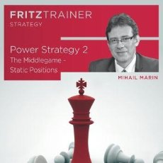 Coleccionismo deportivo: AJEDREZ. CHESS. POWER STRATEGY 2 - MIHAIL MARIN DVD-ROM. Lote 48734639