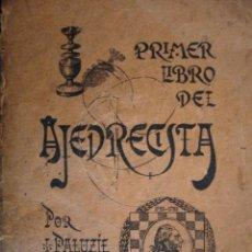 Coleccionismo deportivo: PRIMER LIBRO DE AJEDREZ.PALUZIE Y LUCENA .1938.206 PG. Lote 48751872