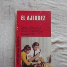 Coleccionismo deportivo: EL AJEDREZ. Lote 48889572