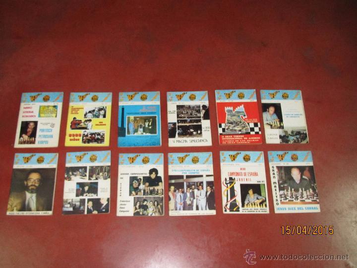 ANTIGUAS REVISTAS AÑO 1973 COMPLETO DE ** AJEDREZ CANARIO ** DEL Nº 18 AL Nº 29 (Coleccionismo Deportivo - Libros de Ajedrez)