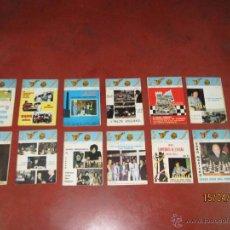 Coleccionismo deportivo: ANTIGUAS REVISTAS AÑO 1973 COMPLETO DE ** AJEDREZ CANARIO ** DEL Nº 18 AL Nº 29. Lote 48893508