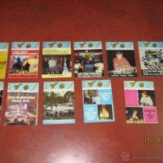 Coleccionismo deportivo: ANTIGUAS REVISTAS AÑO 1974 COMPLETO DE ** AJEDREZ CANARIO ** DEL Nº 30 AL Nº 41. Lote 48893711