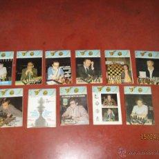 Coleccionismo deportivo: ANTIGUAS REVISTAS AÑO 1975 COMPLETO DE ** AJEDREZ CANARIO ** DEL Nº 42 AL Nº 53. Lote 48893780