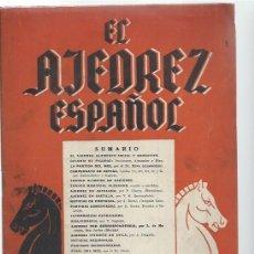 Coleccionismo deportivo: EL AJEDREZ ESPAÑOL Nº 15 NOVIEMBRE 1956, FEDA, EL AJEDREZ ELEMENTO SOCIAL Y EDUCATIVO. Lote 49022361