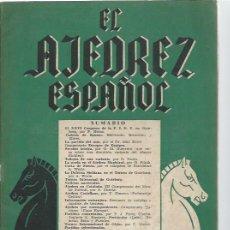 Coleccionismo deportivo: EL AJEDREZ ESPAÑOL Nº 2 OCTUBRE 1955, FEDA, EL XXVI CONGRESO DE LA FIDE EN GOTEBORG. Lote 49022387