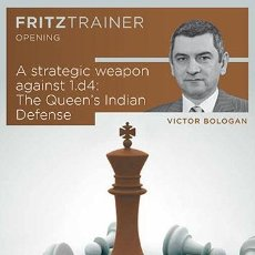Coleccionismo deportivo: AJEDREZ. CHESS. A STRATEGIC WEAPON AGAINST 1.D4: THE QUEEN'S INDIAN - VICTOR BOLOGAN DVD-ROM. Lote 49147254