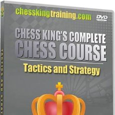 Coleccionismo deportivo: AJEDREZ. TACTICS AND STRATEGY - CHESS KING DVD. Lote 49220519