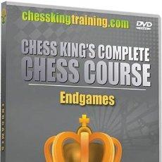Coleccionismo deportivo: AJEDREZ. CHESS. ENDGAMES - CHESS KING DVD. Lote 49223088