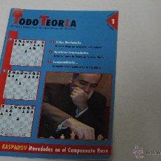 Coleccionismo deportivo: TODO TEORIA NUM 1 FEBRERO 2005.. Lote 49276635