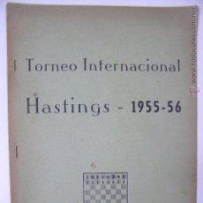 Coleccionismo deportivo: TORNEO INTERNACIONAL AJEDREZ HASTINGS 1955 - 56,REF ÑÑ10. Lote 49353303